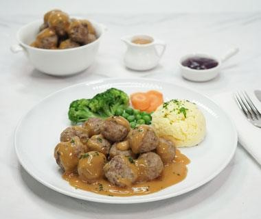 Swedish Meat Ball Front