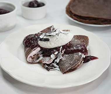 Black Forest Crepe Front